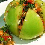 Салат из зеленых помидор на зиму рецепты без стерилизации